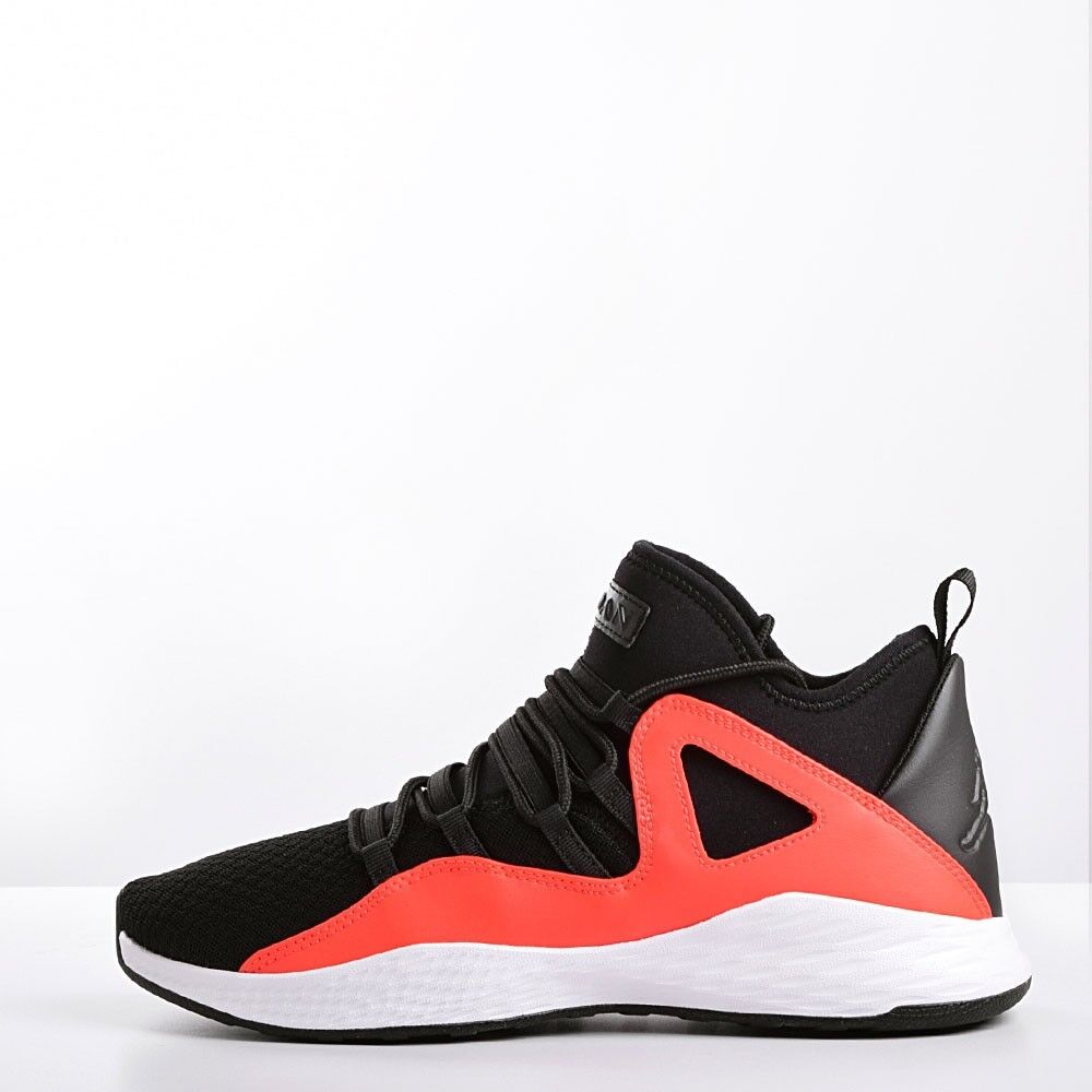 Nike Jordan Formula 23 Men's Basketball Shoes Black/White-Max Orange 881465 018