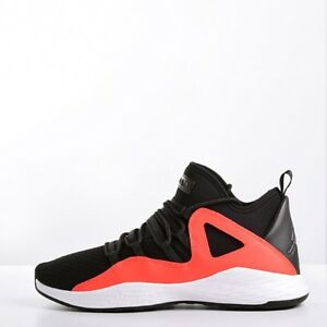 7f29676973b8 Nike Jordan Formula 23 Men s Basketball Shoes Black White-Max Orange ...