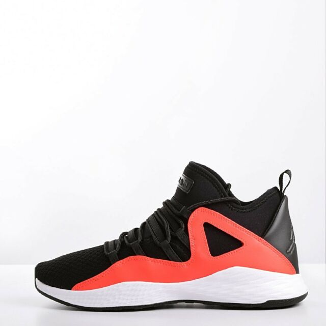 0aebd08163458c Nike Jordan Formula 23 Men s Basketball Shoes Black White-Max Orange 881465  018