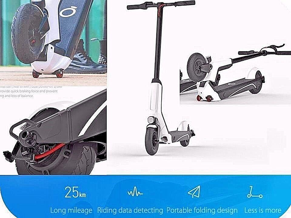 A1 Original Xiaomi Scooter Eléctrico De Motor Para Adultos Con  Cochegador De Batería blancoo  Descuento del 70% barato