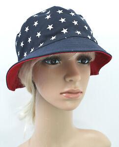 febe0ec8b4e2e9 Image is loading USA-American-Flag-Reversible-Bucket-Hat