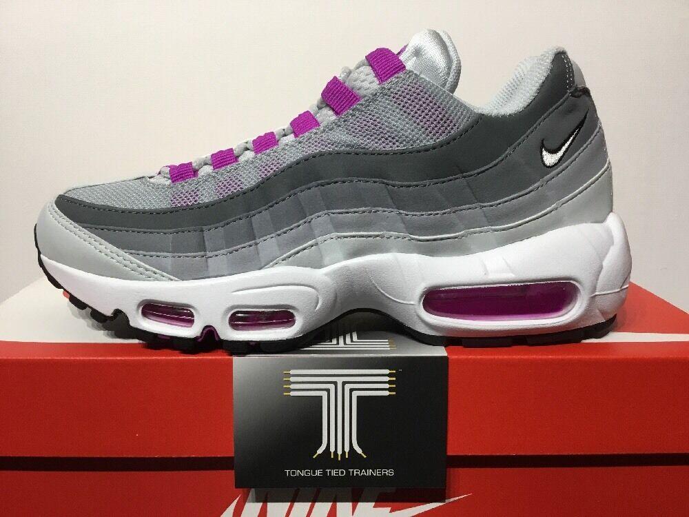 Nike air max 95 ~ 307960 001 ~ royaume-uni taille 6.5 ~ euro 40.5