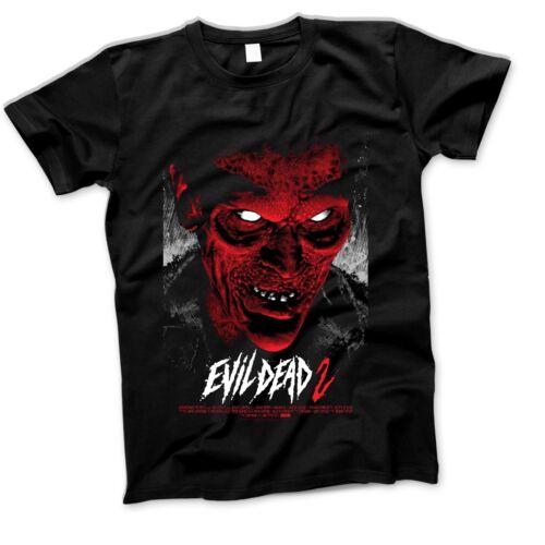 Evil Dead T Shirt Horror Movie Film Cult 80S Retro Vintage T Shirt