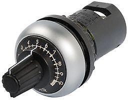 M22-R10K Eaton Potentiometer Sil-Bzl 10K