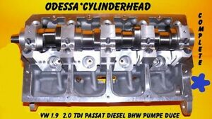 new vw 1 9 2 0 sohc passat tdi diesel bhw cylinder head. Black Bedroom Furniture Sets. Home Design Ideas