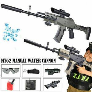 M762-Handbuch-Sniper-Gel-Ball-Blaster-Wasser-Kristall-Kugel-Toy-Gun-Kinder-Cs