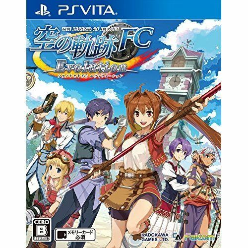 Very Good PS Vita The trajectory of of of The Legend of Heroes sky FC Evolution Japan ca41de