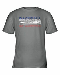 Baseball-Shirt-Heartbeat-of-America-Sports-Fan-Apparel-Gift