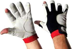 Rigginghandschuhe fingerlos Handschuhe 8 BluePort Segelhandschuhe AMARA Gr M