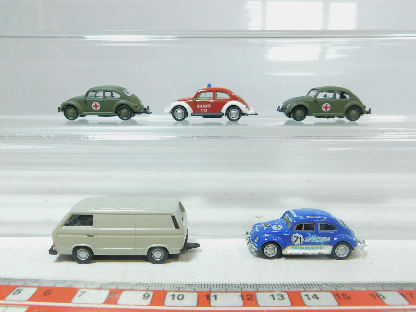 AZ433-0,5 AZ433-0,5 AZ433-0,5  5x Schuco H0 (1 87) VW  Feuerwehr FW+Aero Serviceromans+DRG, s.g.  | Outlet Online Store  28829d