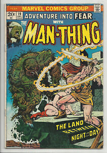 ADVENTURE-INTO-FEAR-MAN-THING-19-1st-APPEARANCE-HOWARD-THE-DUCK-1973-VG