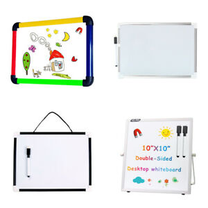 VIZ-PRO Dry Erase Board Kid's Drawing Board Magnetic Home School Writing Board