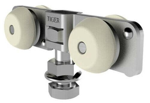 Schiebetürbeschlag Tiger 80 NEO Laufrollen Laufwerke Tragflansch Puffer Zubehör