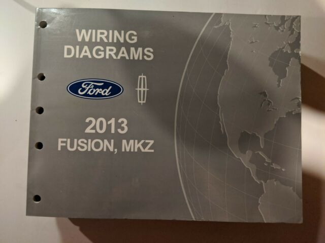 2013 Ford Fusion Lincoln Mkz Electrical Wiring Diagram