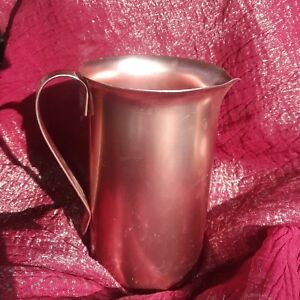 Vintage-Aluminum-Creamer-syrup-Pitcher-by-color-craft-of-Indianapolis-Indiana