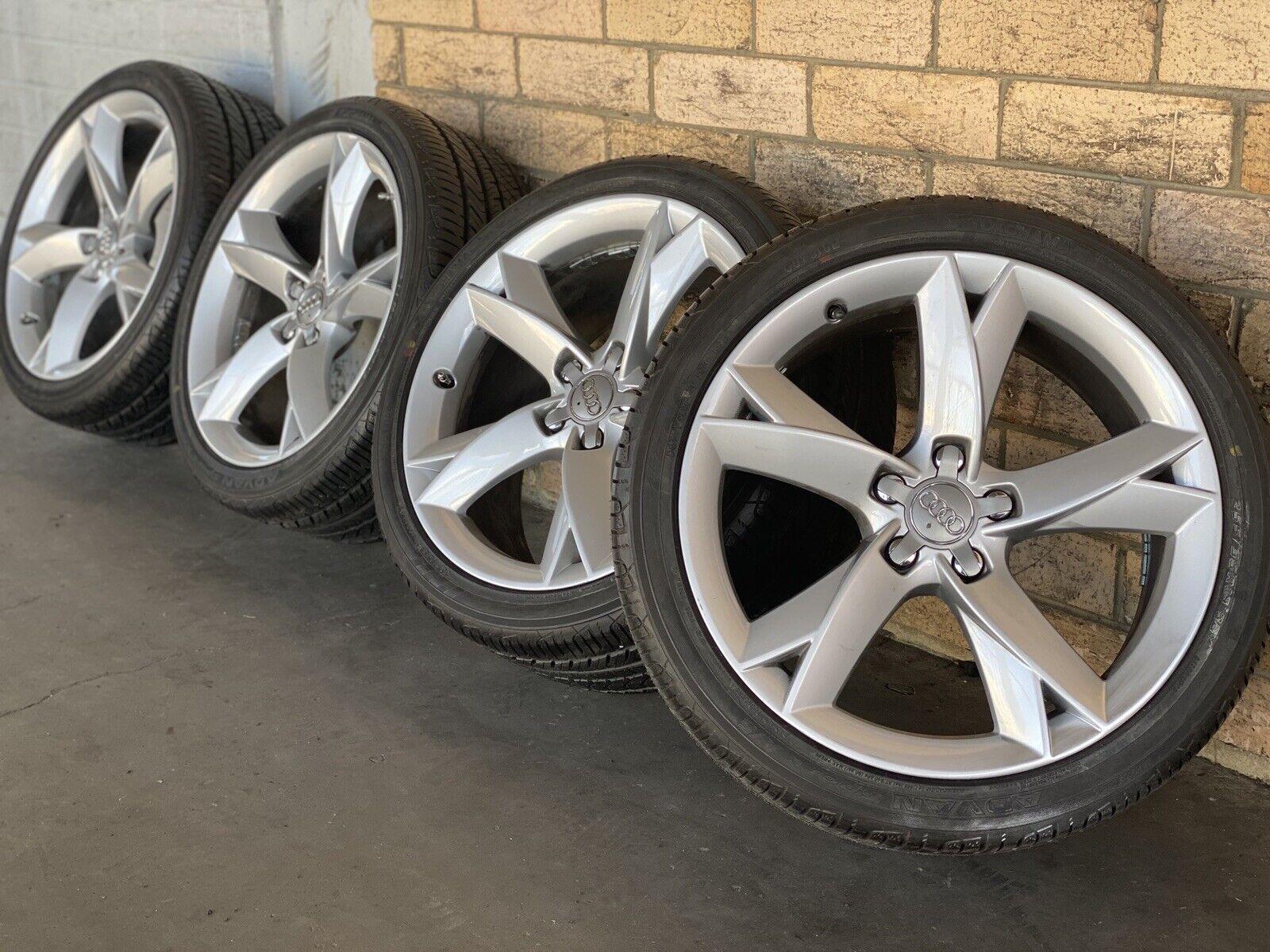 4x Genuine Audi A5 Y Shape Speedline Alloy Wheels 19 With Good Tyres For Sale Online Ebay