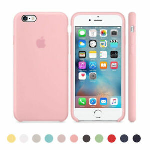 Original Ultra Suave Funda de silicona Funda para Apple iPhone 8 7 6 6s Plus cs2