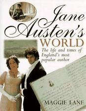 Jane Austen's World : The Life and Times of England's Favorite by Maggie Lane (1997, Hardcover)