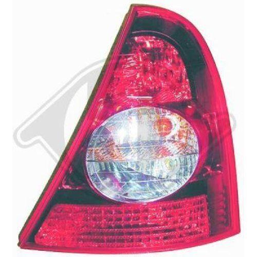 DIEDERICHS HECKLEUCHTE LINKS RENAULT CLIO II 4413191 Renault Clio II BB0/1/2_,