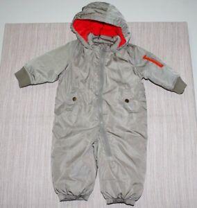 909d241e61e3 Baby GAP Green Warmest down snowsuit One-Piece Romper
