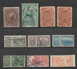 Mexico-fiscal-Revenue-Cinderella-stamps-ma46