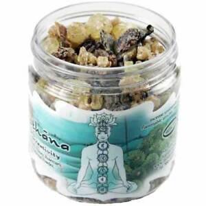 Details about Svadhisthana Chakra Sensuality & Creativity 2 4 oz Jar Herbal  Rock Resin Incense