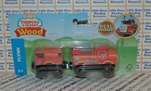 Thomas-Friends-Wood-Wooden-FLYNN-Train-FULLY-PAINTED-Fisher-Price-GGG64-2019