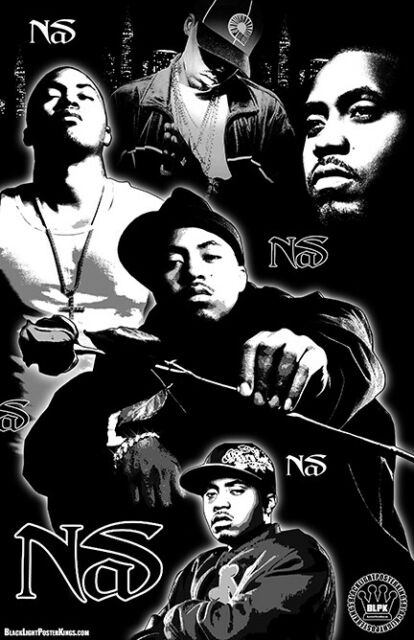 "NAS 11x17 ""Black Light"" Poster | eBay"