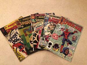 Spiderman Marvel Vintage Bundle of 5 Comic Books