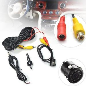 Car-Rear-View-Reverse-Backup-Parking-Camera-8-LED-HD-Waterproof-Night-Vision-LE