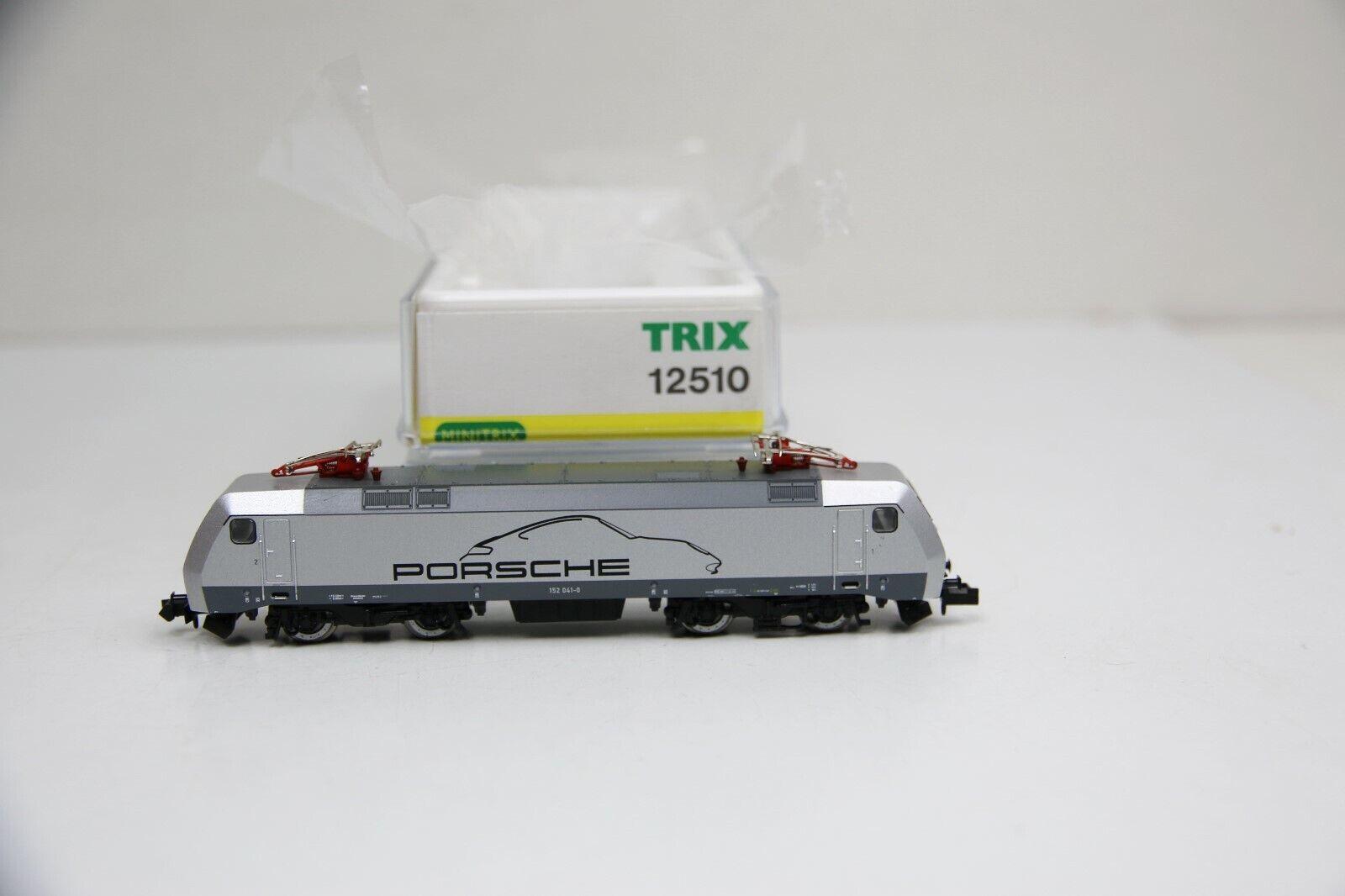 Minitrix Spur N 12510 E-Lok BR 152 041-0  Porsche  der DB-AG OVP (RC483)  | Verschiedene Arten und Stile