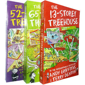 Andy-Griffiths-amp-Terry-Denton-3-Books-Collection-Set-The-13-Storey-Treehouse