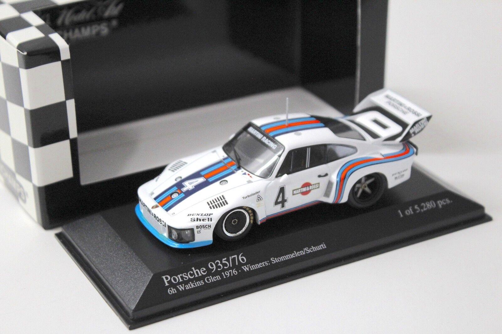 1 43 Minichamps Porsche 935 76 Martini  4 Watkins New chez Premium-modelcars