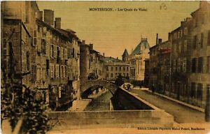 CPA Montbrison - Les Quais du Vizézi (487626) FO8ZzWKi-09164231-455212163
