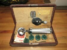 Vintage Welch Allyn Otoscope Amp Ophthalmoscope Diagnostic Set With Case Boston