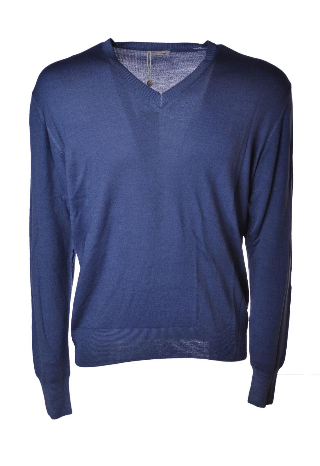 Viadeste - Knitwear-chandails - Man - bleu - 4677511D192521