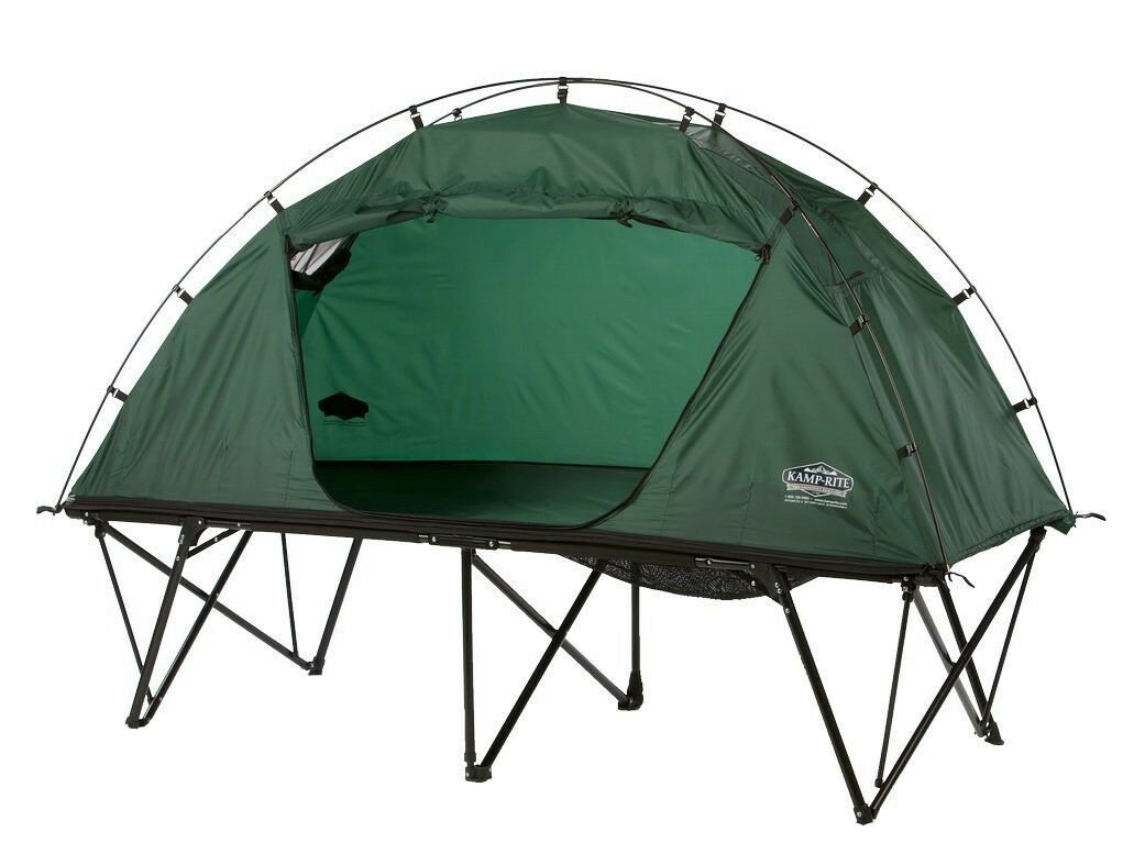 Kamprite Standard One Person Outdoor Camping Compact Tent Cot w  Storage Bag