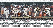 2014 Season Ticket Stubs San Francisco SF Giants Mint Various Games