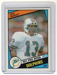 1984-Topps-Dan-Marino-Rookie-Card-123-Miami-Dolphins-NM