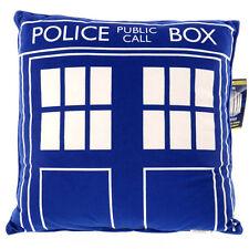 Doctor Who Tardis Square Cushion Pillow NEW Cushion Decorative Police Box
