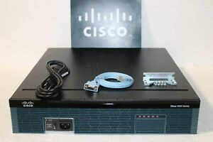 Cisco-CISCO2921-K9-Integrated-Services-Router-2921-Gigabit-w-Warranty-1GB-256MB