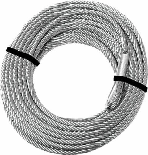 "3//16/"" x 45.9/"" KFI Steel Cable 2500-3500lb Winch Replacement Cable"