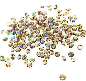 500Pc-BrownAB-Crystal-Birthstones-Floating-Charm-for-Glass-Living-Memory-Lockets