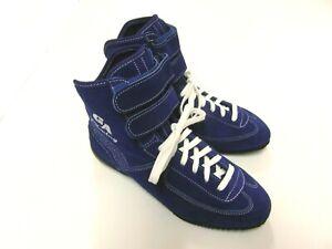 Zapatos-de-Kart-Ga-Racing-Piel-de-ante-Azul-Gr-43