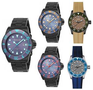 Invicta-Men-039-s-Pro-Diver-Analog-Quartz-Stainless-Steel-Silicone-Watch