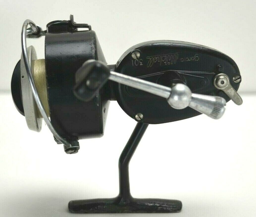 Garcia MItchell 301 L H Spinning  Reel  ALUMINUM DEEP SPOOL 1968 MADE IN FRANCE  with 100% quality and %100 service