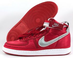 new style ef537 fb042 Image is loading Nike-Vandal-High-Supreme-QS-University-Red-Silver-