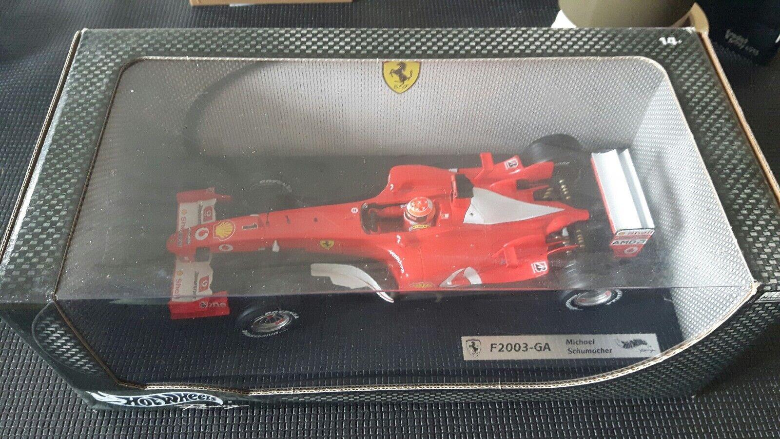 F1 Ferrari F  2003 GA  M. SCHUMACHER  wc 1 18  direct usine
