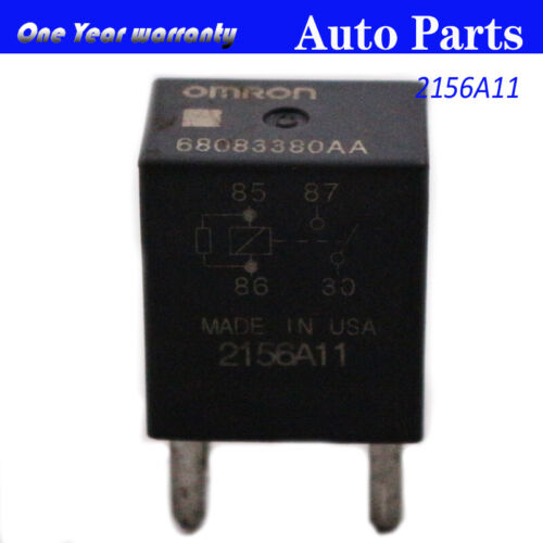 68083380AA 2156A11 Relay 4 Pins For Chrysler Dodge Journey Ram 1500 Jeep Liberty