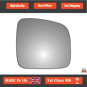Volkswagen-Caddy-2004-2015-Right-Driver-Side-Convex-wing-mirror-glass-49RS